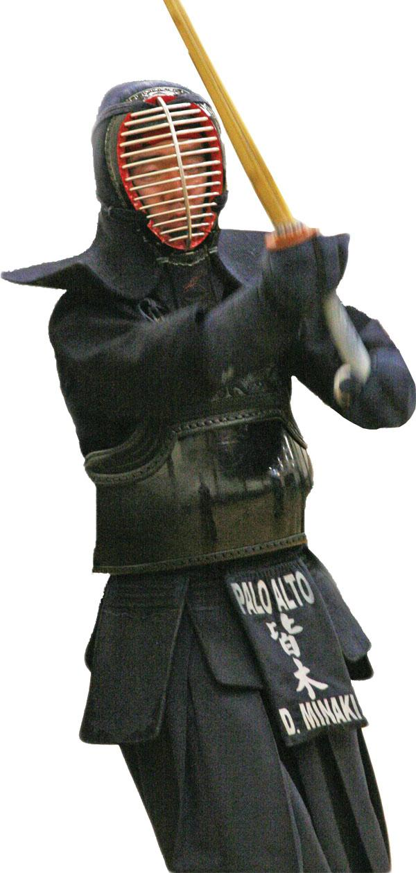 Kendo, a Japanese martial art, features one-on-one combat using wooden swords and protective armour. The goal is to strike the opponent in specific target areas, called datotsu-bui, while displaying high spirits and correct posture, as judged by three referees.  Daiki Minaki explains that the kendo ranking system comprises two sections, the kyu and the dan.  Kendoka, those who practice kendo,  start at 6-kyu and work their way up to 1-kyu, before moving on to the dan system. From there, they progress from 1-dan to the highest rank of 8-dan.