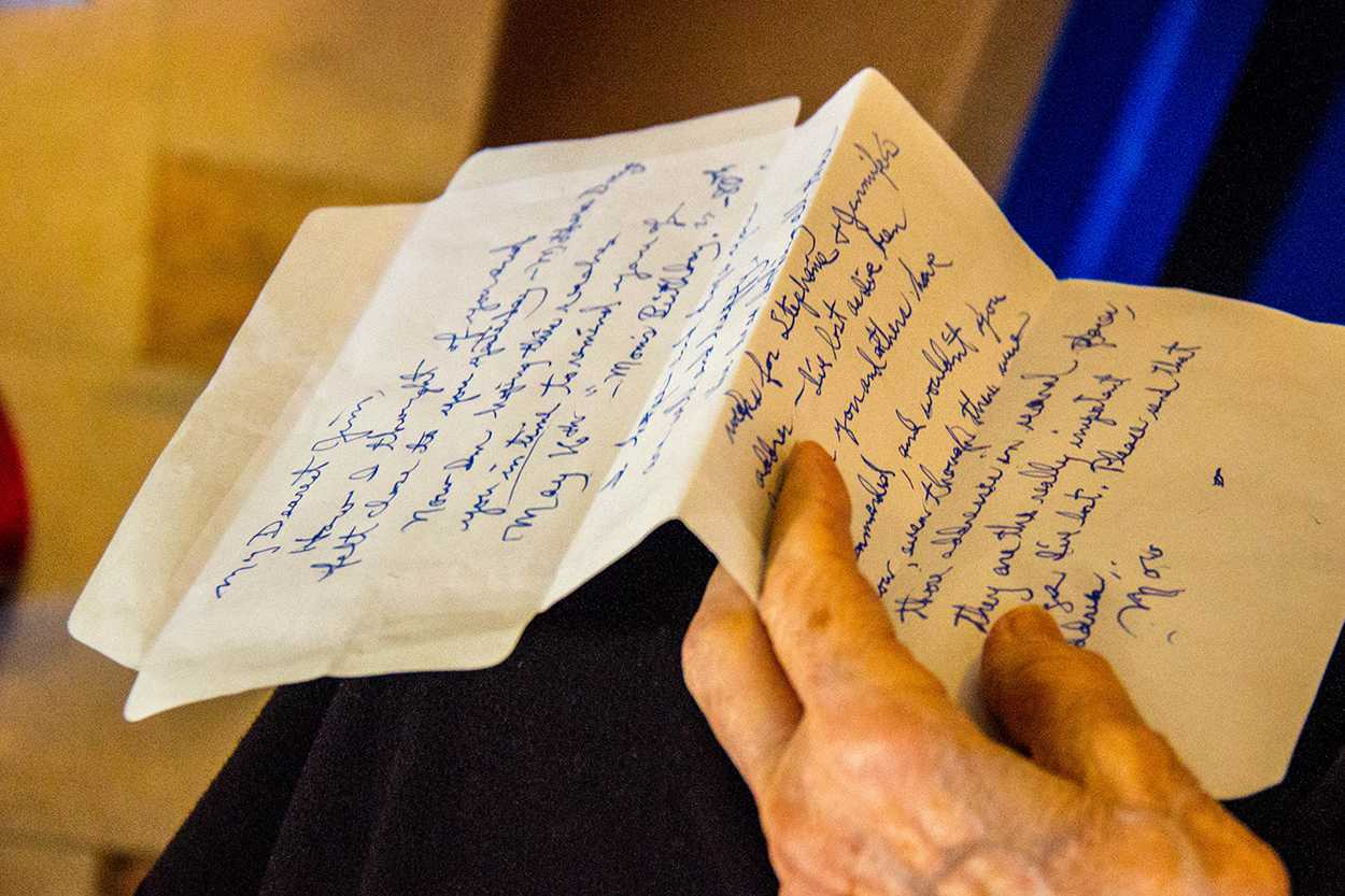Letters, Stamps, Chats: Past meets present in the post office